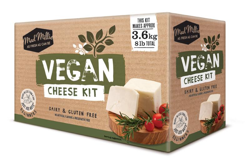 Mad Millie Vegan Cheese Kit image
