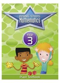 Rising Stars Mathematics Year 3 Textbook by Caroline Clissold image