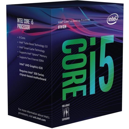 Intel Coffee Lake Core i5 8600K Unlocked 6-Core CPU