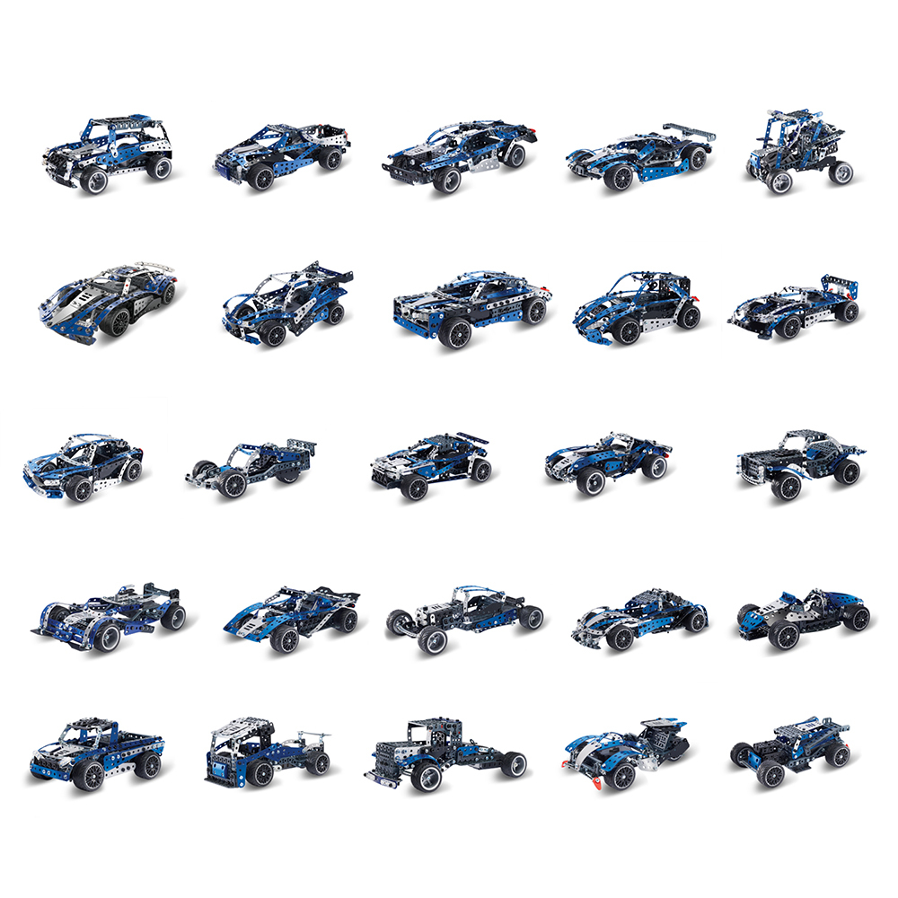Meccano: 25 Model Set - Super Car with Motor image