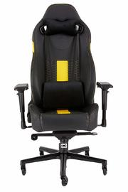 Corsair: T2 Road Warrior High Back Desk And Office Chair - Black/Yellow for