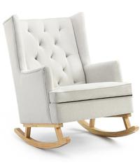 Shangri-La: Charlotte Rocking Chair - Beige