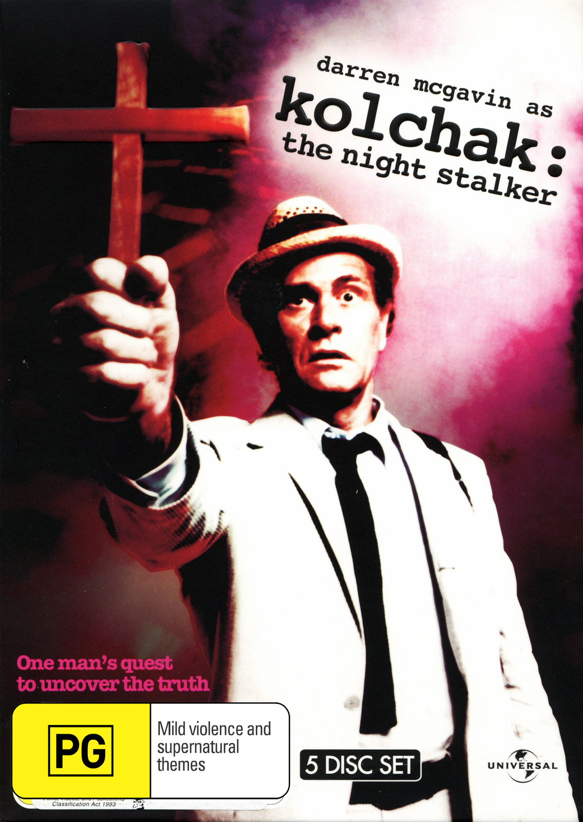 Kolchak: The Night Stalker (5 Disc Set) DVD image