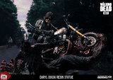 "The Walking Dead: Daryl Dixon on Bike - 10"" Resin Statue"