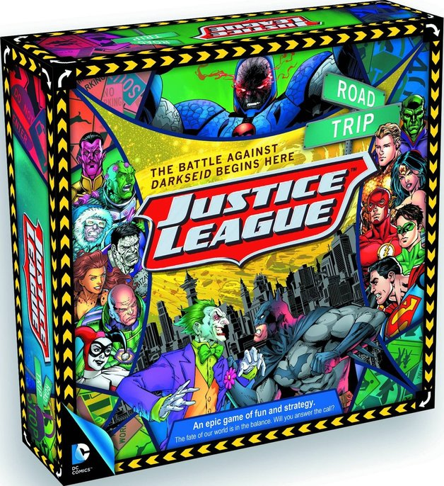 DC Comics: Justice League Road Trip Board Game