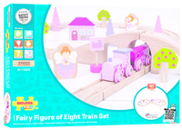 Bigjigs - Fairy Figure of Eight Train Set