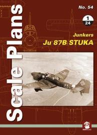 Scale Plans No. 54: Ju 87 B Stuka 1/24
