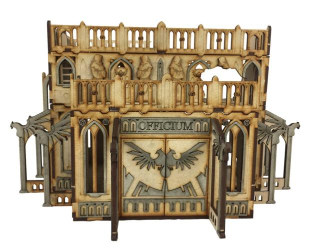 TTCombat: Tabletop Scenics - Gothic Ruined Officium