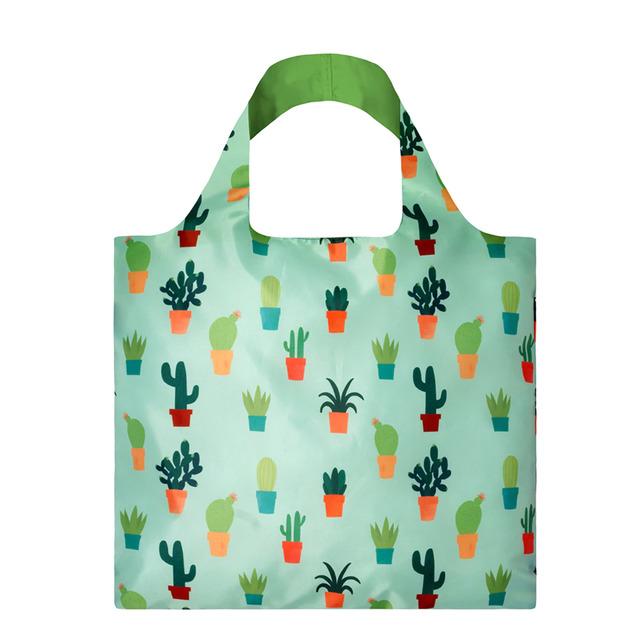Loqi: Shopping Bag Creative Collection - Ana Seixas Cactus