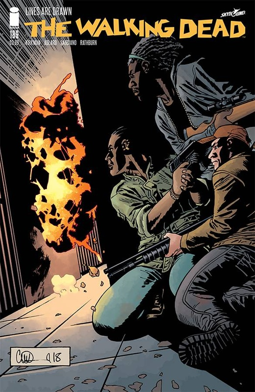 Walking Dead: Lines Are Drawn - #189 by Robert Kirkman