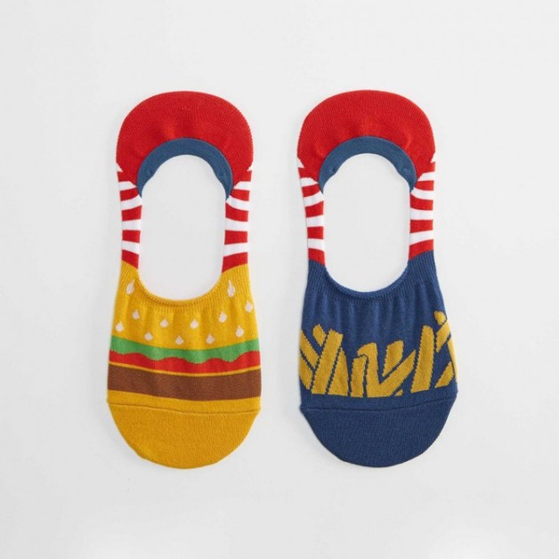 Sock It to Me: No Shows - Burger & Fries (Medium)