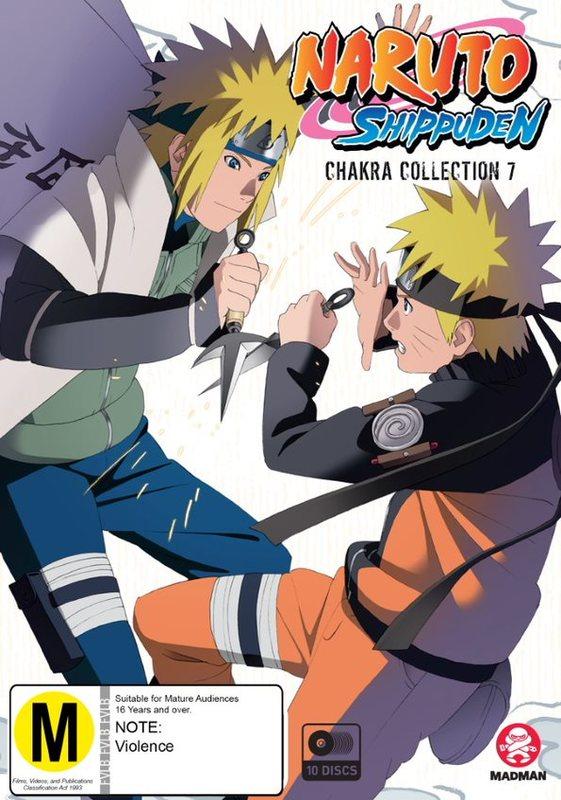 Naruto Shippuden Chakra Collection 7 (Eps 431-500) on DVD