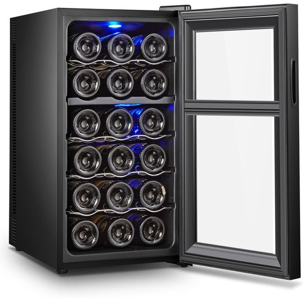 18 Bottle Thermoelectric Wine Cooler