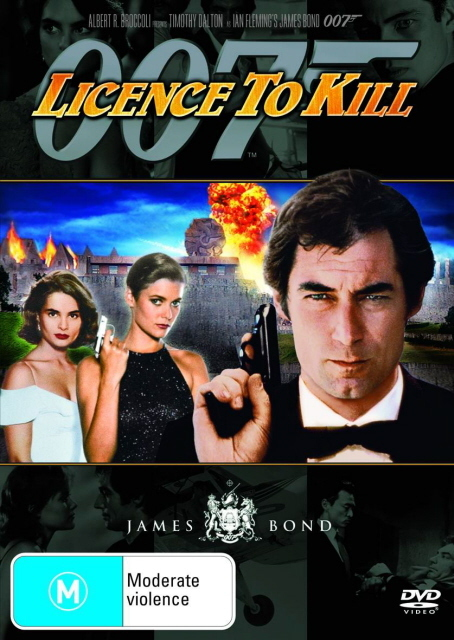 James Bond - Licence to Kill on DVD
