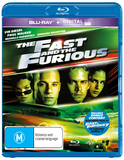 The Fast And The Furious UV on Blu-ray