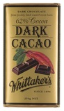 Whittakers 62% Dark Cacao Block (250g)