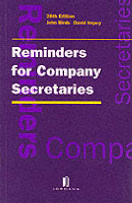 Reminders for Company Secretaries