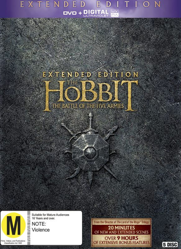 The Hobbit: The Battle of Five Armies - Extended Edition on DVD
