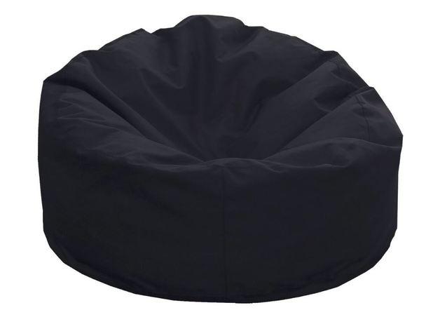 Beanz Moon Bean Indoor/Outdoor Bean Bag Cover - Black