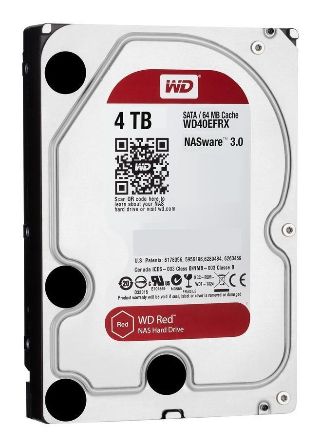 """4TB WD Red - 3.5"""" IntelliPower NAS HDD (5400RPM) image"""