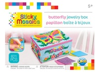 The Orb Factory: Sticky Mosaics - Butterfly Jewellery Box