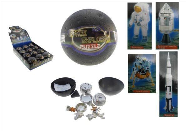 Space Explorer - Mini 3D Puzzle (Assorted Designs)