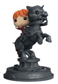 Harry Potter: Ron Riding Chess Piece - Pop! Movie Moment Figure