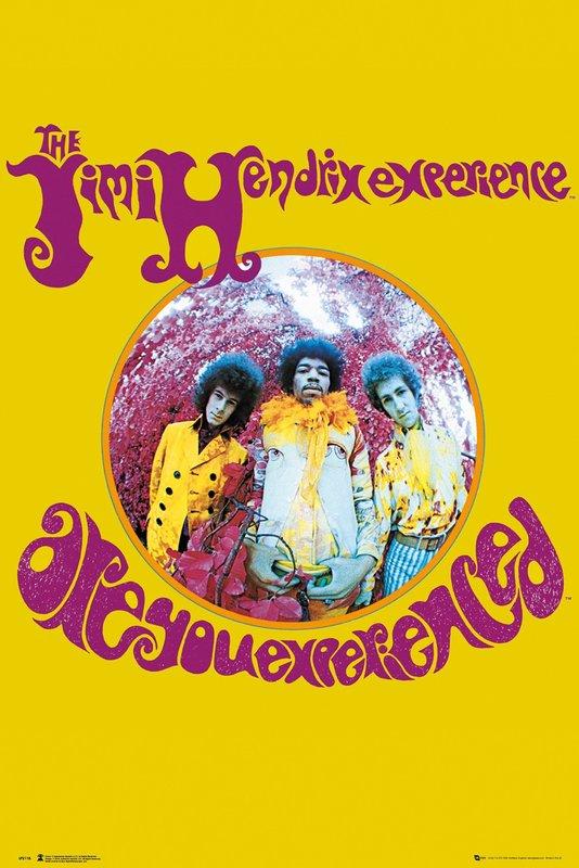 Jimi Hendrix Maxi Poster - Experience (954)