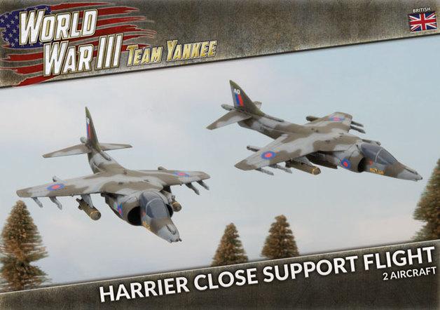 Team Yankee: Harrier Close Support Flight