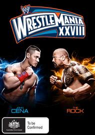 WWE - WrestleMania 28 on DVD