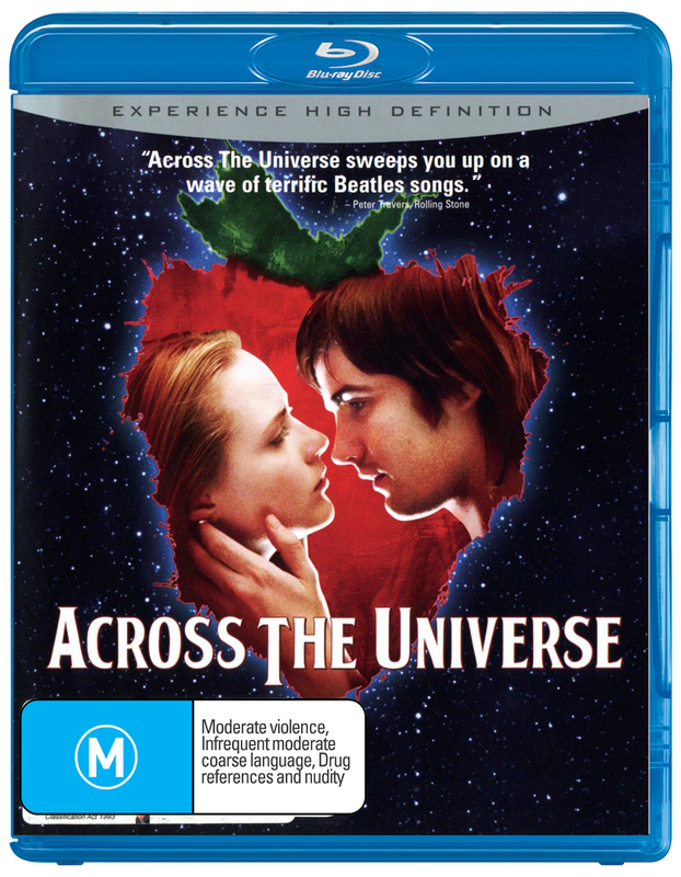 Across The Universe on Blu-ray