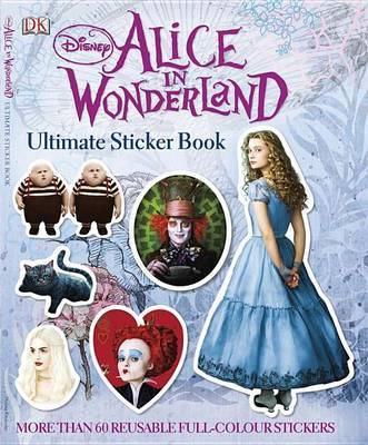 Disney Alice in Wonderland Ultimate Sticker Book by Jo Casey image