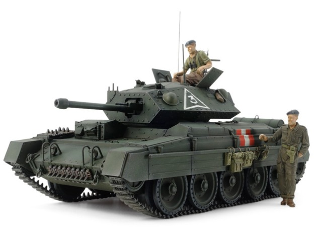 Tamiya 1/35 British Cruiser Tank Mk.VI Crusader - Model Kit
