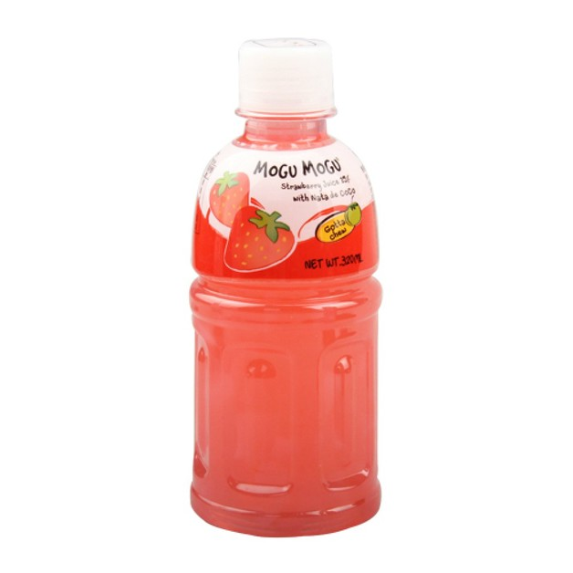 Mogu Mogu Strawberry Flavoured Drink 320ml