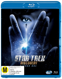 Star Trek Discovery: Season 1 on Blu-ray
