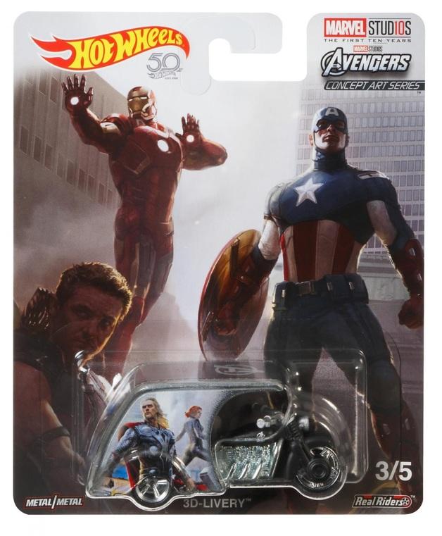 Hot Wheels: Marvel Studios - Avengers (3D-Livery)