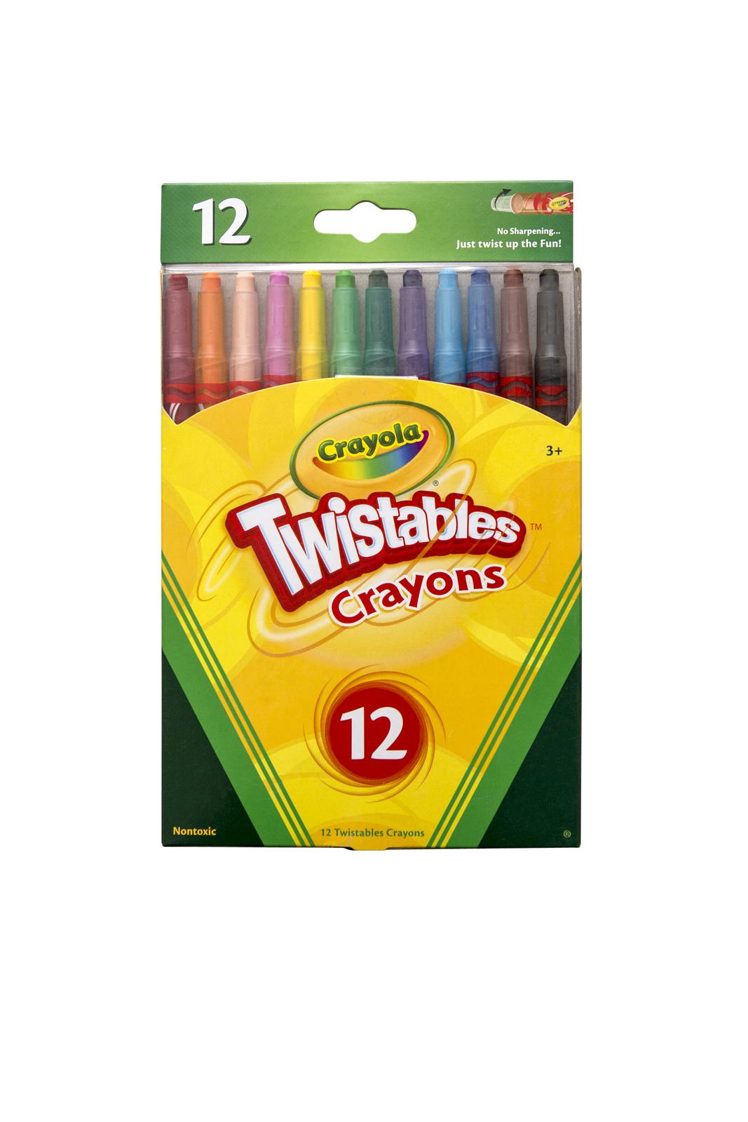 Crayola: 12 Twistables Crayons image