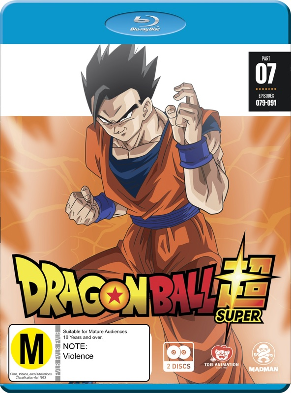 Dragon Ball Super - Part 7 (eps 79-91) on Blu-ray
