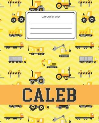 Composition Book Caleb by Construction Composition Books