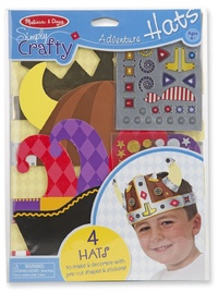 Melissa & Doug: Simply Crafty Adventure Hats