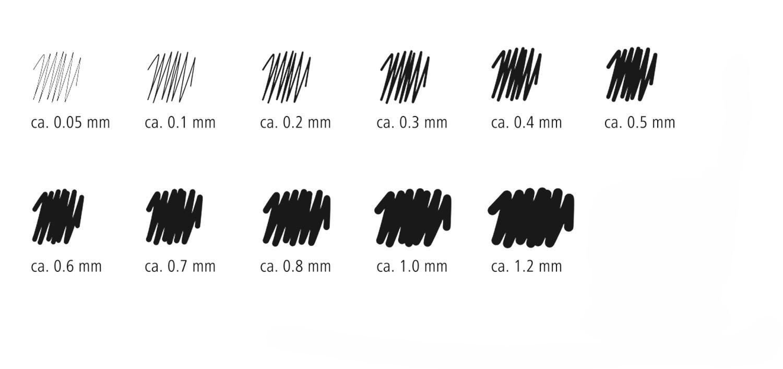 Staedtler - Marsgraphic Pigment Liner (0.1mm) image