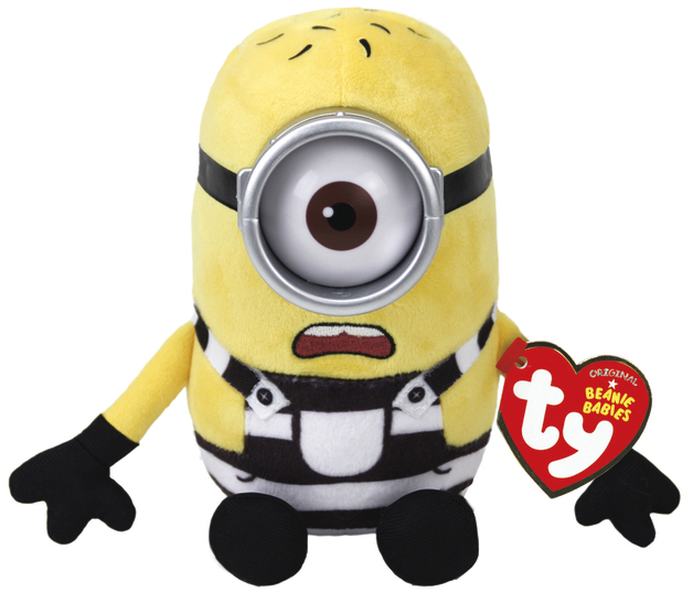 Ty Minions: Carl Prison - Themed Plush