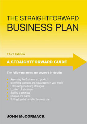 The Straightforward Business Plan by John McCormack image