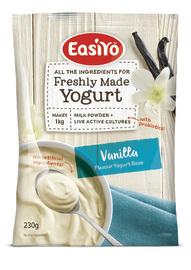 EasiYo Everyday Range Yogurt Base - Vanilla