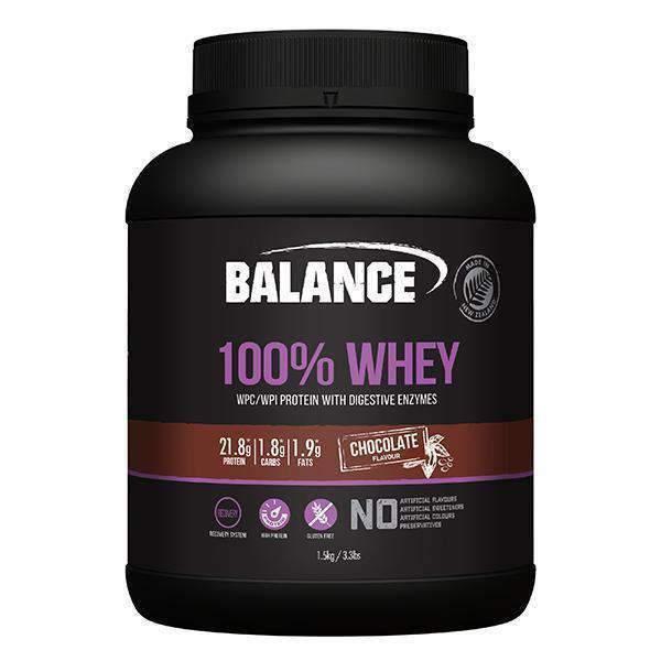 Balance 100% Whey - Chocolate (1.5kg) image