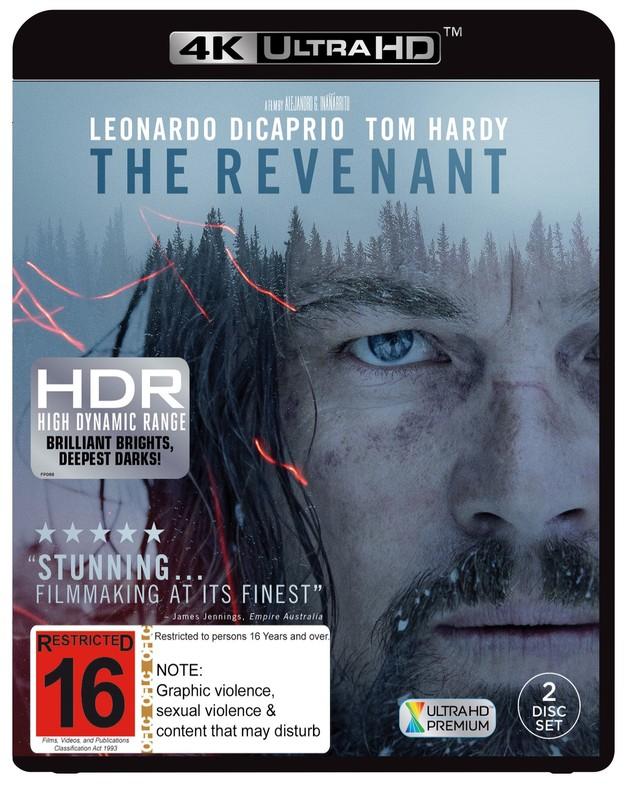 The Revenant on UHD Blu-ray