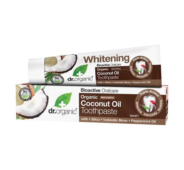 Dr. Organic - Coconut Oil Toothpaste (100ml)