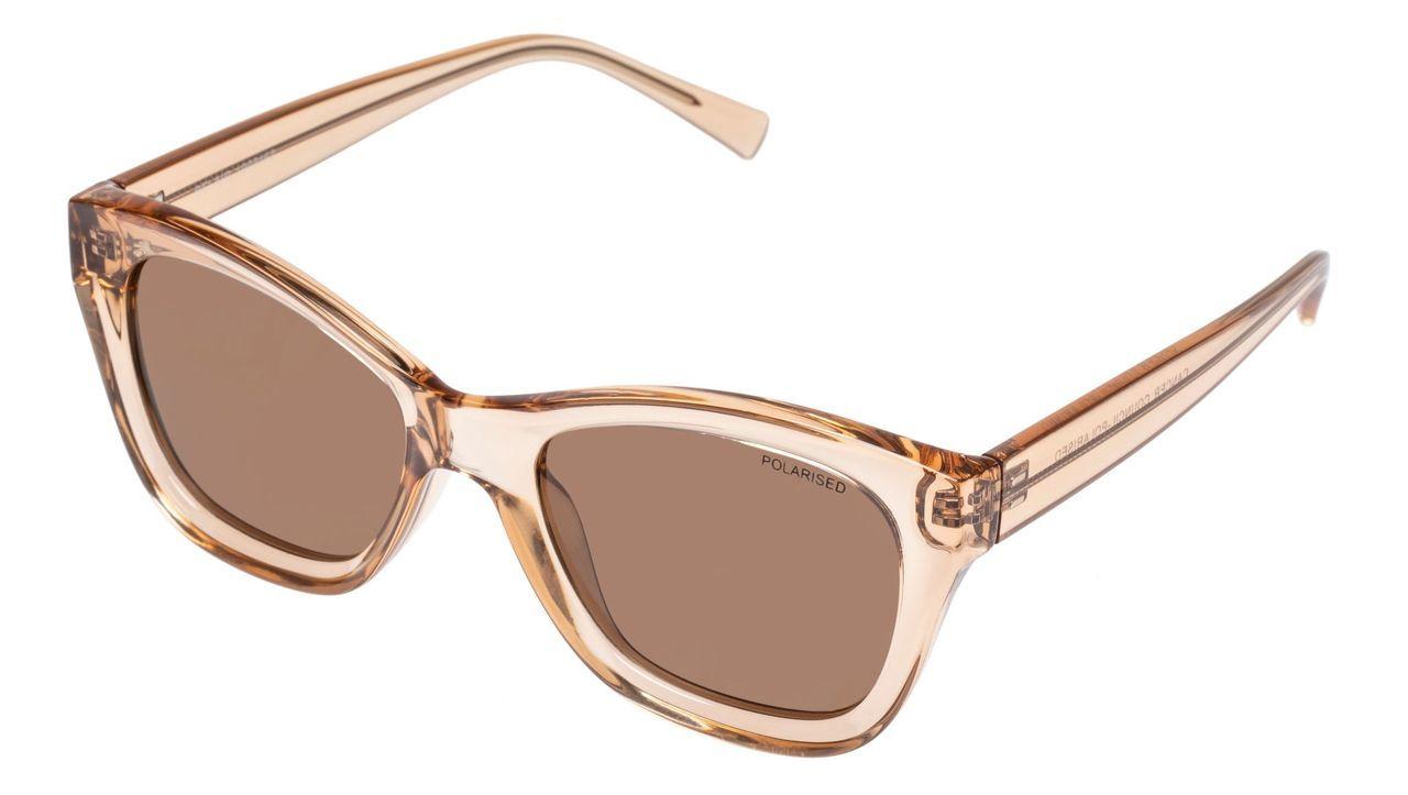 Belair Sunglasses - Clear Brown + Brown Lens image