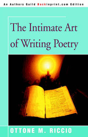 The Intimate Art of Writing Poetry by Ottone , M. Riccio image