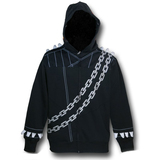 Ghost Rider Masked Costume Hoodie (Small)
